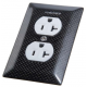104D Carbon Fiber Outlet Cover